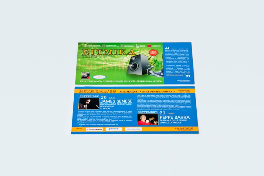 Ritmika 2008 - Campagna Pubblicitaria - Glocos Agenzia di Comunicazione Bari