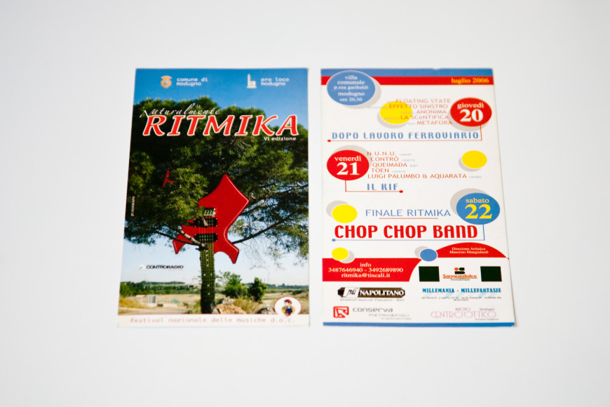 Ritmika 2007 - Campagna Pubblicitaria - Glocos Agenzia di Comunicazione Bari