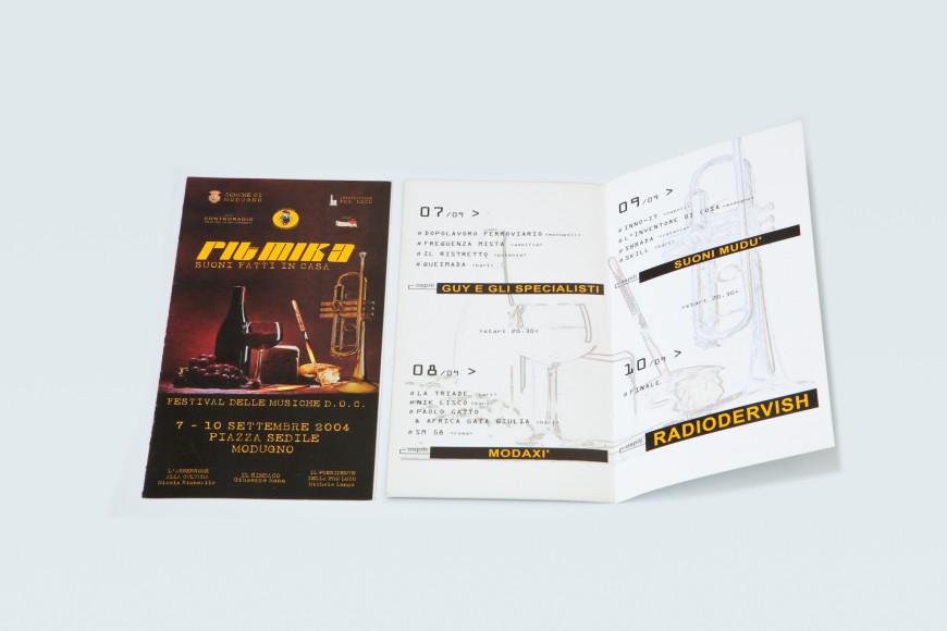 Ritmika 2004 - Campagna Pubblicitaria - Glocos Agenzia di Comunicazione Bari