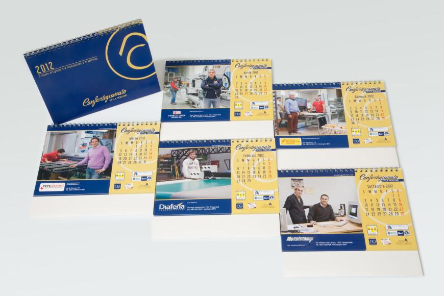 Confartigianato 2012 - Calendario - Glocos Agenzia di Comunicazione