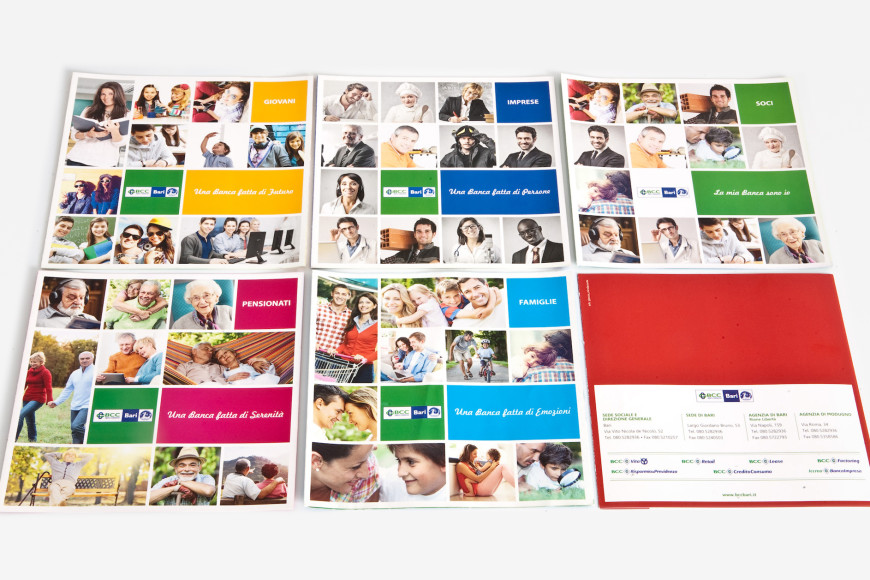 La mia banca sono io - Campagna pubblicitaria - Glocos Agenzia di Comunicazione Bari