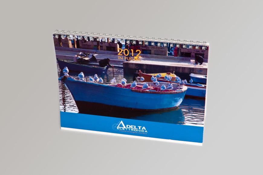 Delta Elettronica - Calendario 2012 - Glocos Agenzia di Comunicazione Bari