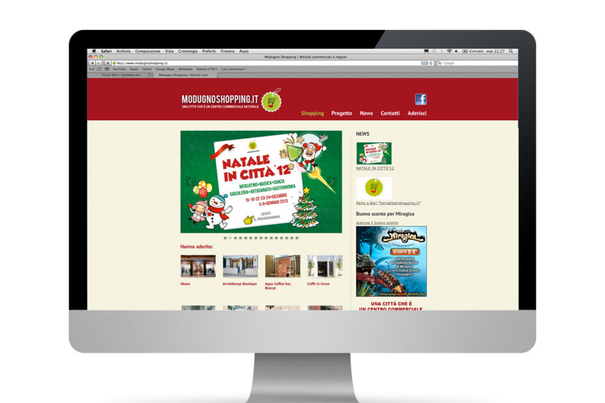 Modugno Shopping - Glocos web marketing