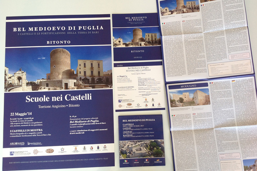 Scuole nei Castelli - Marketing Turistico Bitonto - Glocos Agenzia di Marketing