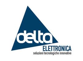 logo Delta Elettronica - Glocos Agenzia di Comunicazione