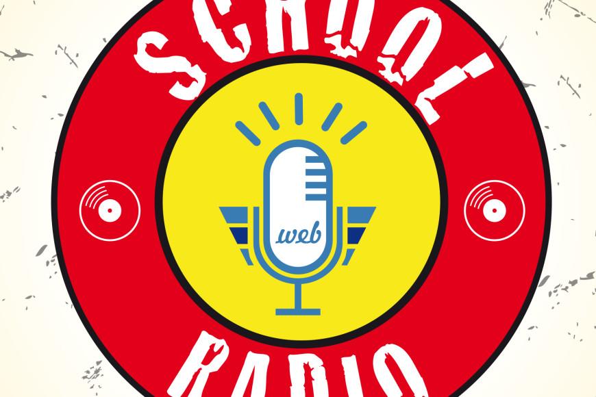 logo School Radio - Glocos Grafica Pubblicitaria