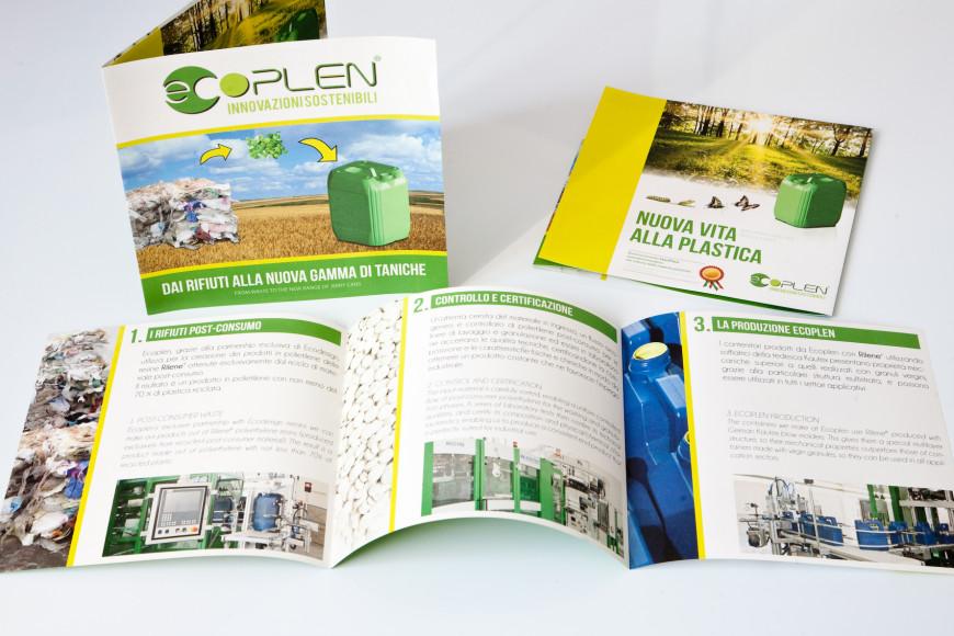 Ecoplen - corporate identity - Glocos Agenzia di Comunicazione Bari