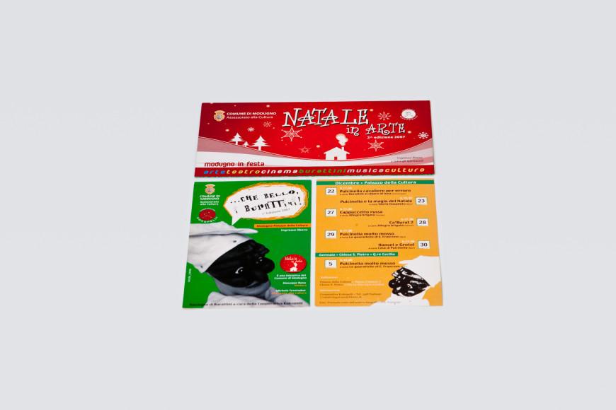 Natale in Arte - Campagna pubblicitaria - Glocos Agenzia di Comunicazione