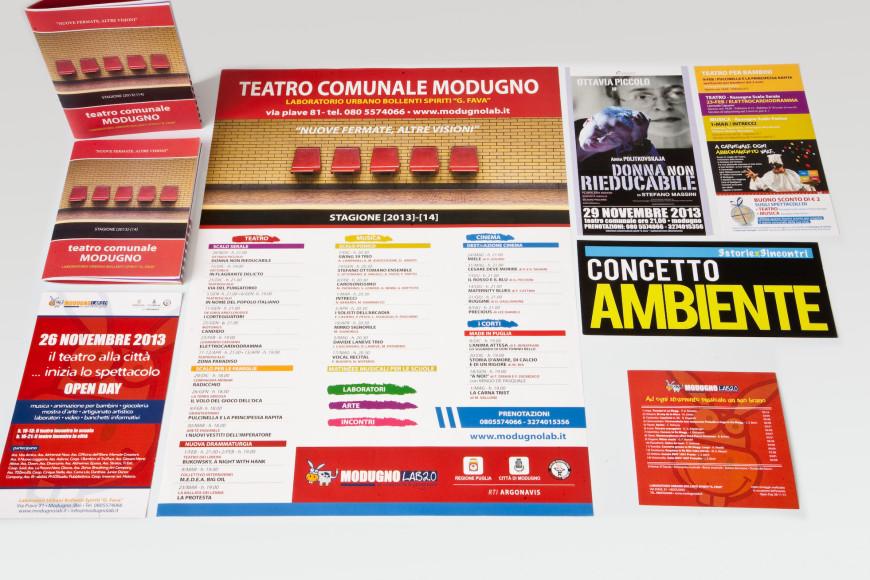 Nuove fermate, altre visioni. Stagione 13/14 - Campagna pubblicitaria - Glocos Agenzia di Comunicazione
