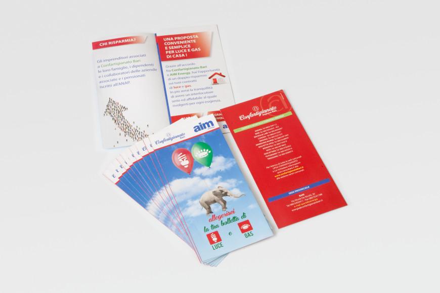 Aim - Flyer - Glocos Agenzia di Comunicazione
