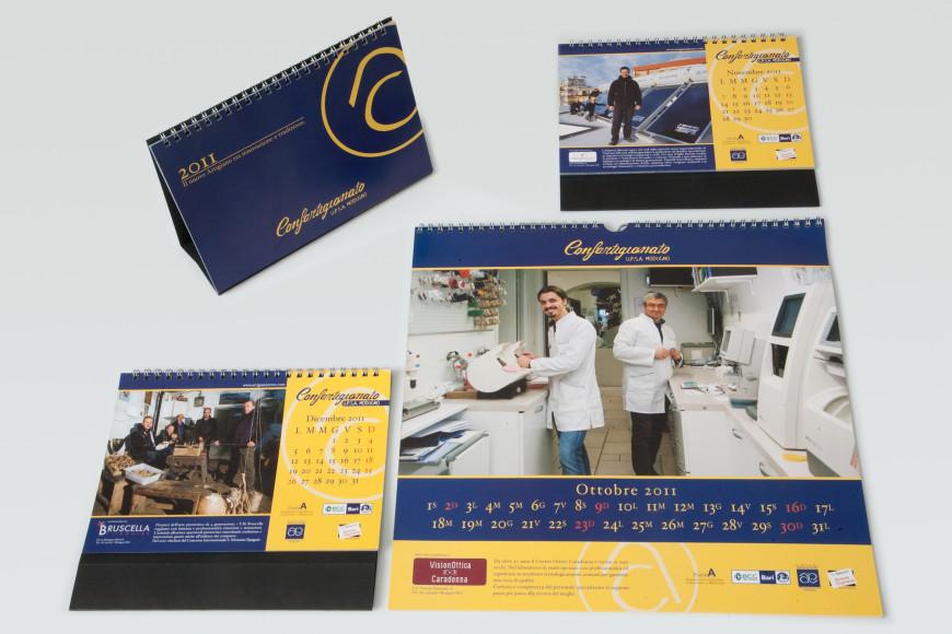 Confartigianato 2011 - Calendario - Glocos Agenzia di Comunicazione