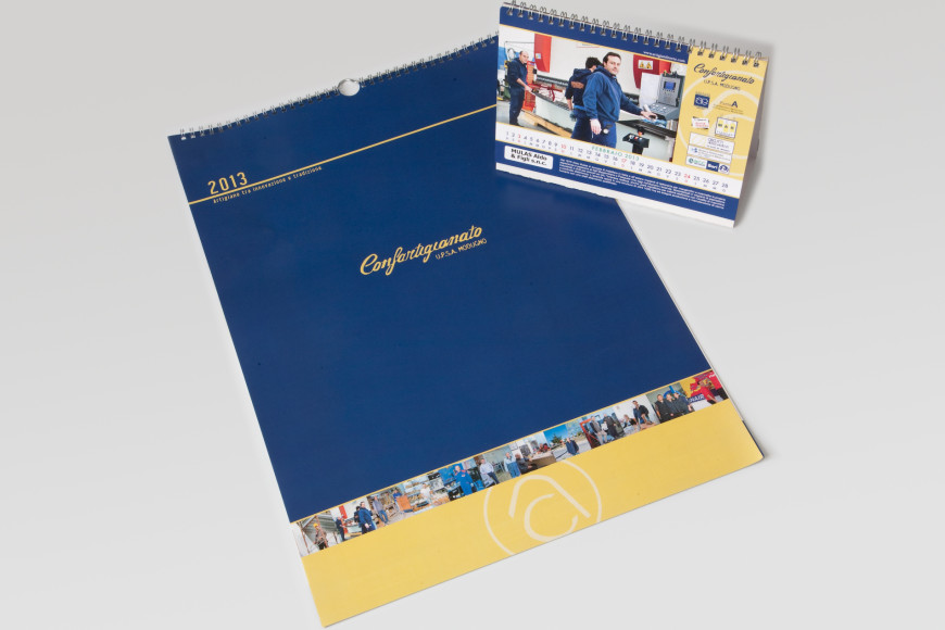 Confartigianato 2013 - Calendario - Glocos Agenzia di Comunicazione