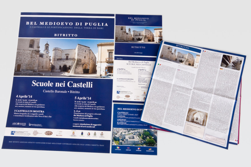 Scuole nei Castelli - Marketing Turistico Bitritto- Glocos Agenzia di Marketing