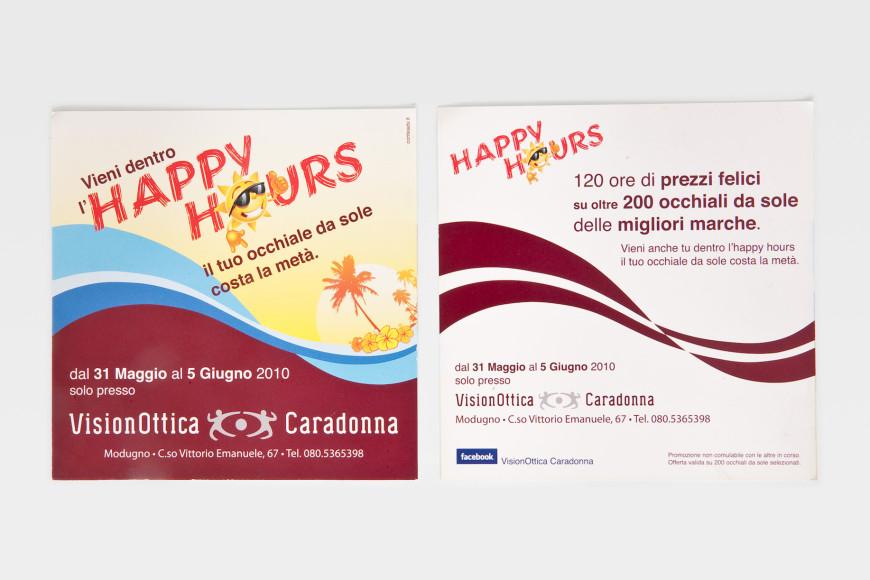 Happy Hours - Flyer - Glocos Agenzia di Comunicazione Bari