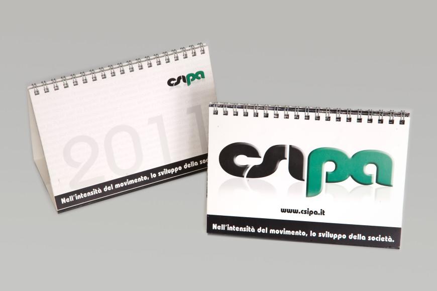 Nell'intensità del movimento, lo sviluppo della società 2011 - Calendario - Glocos Agenzia di Comunicazione