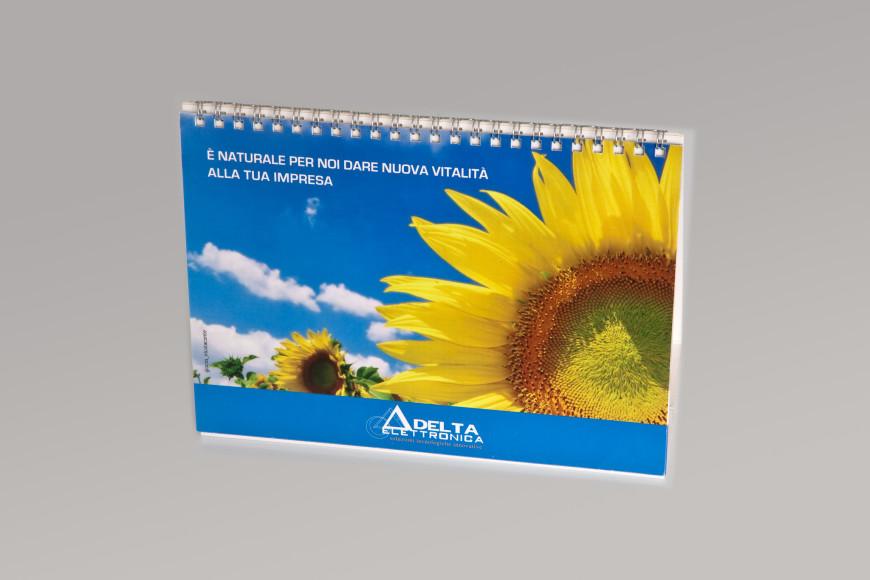 Delta Elettronica - Calendario 2009 - Glocos Agenzia di Comunicazione Bari