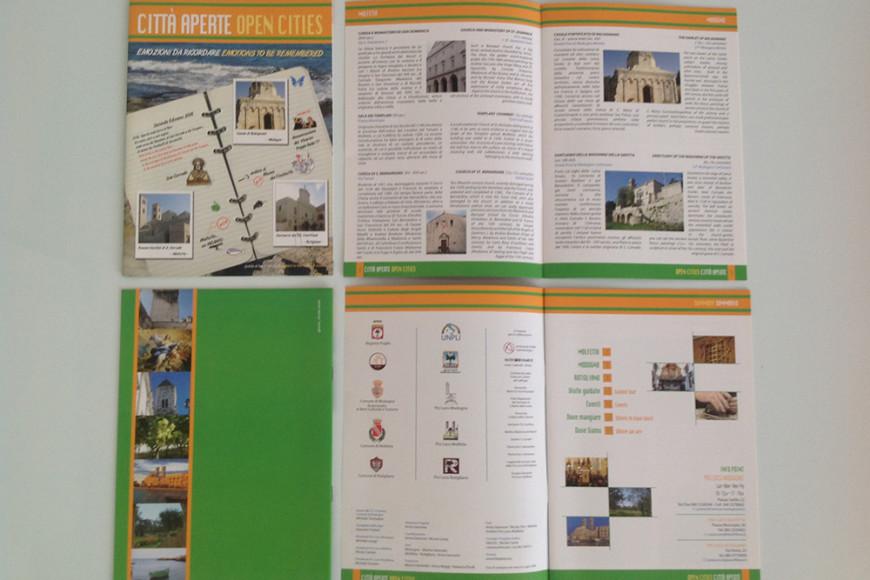 Città Aperte 2008 - Opuscolo - Glocos Agenzia di Marketing Turistico