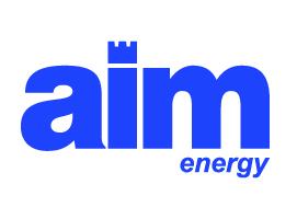 Logo AIM Energy - Glocos Agenzia di Comunicazione Bari