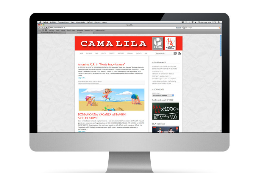 Cama Lila web - Glocos web marketing