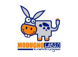 Logo ModugnoLab - Glocos Agenzia di Comunicazione Bari